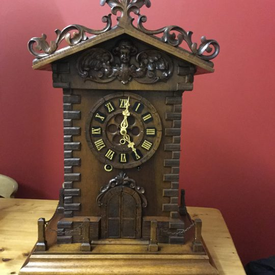 Black Forest Trumpeter Clock